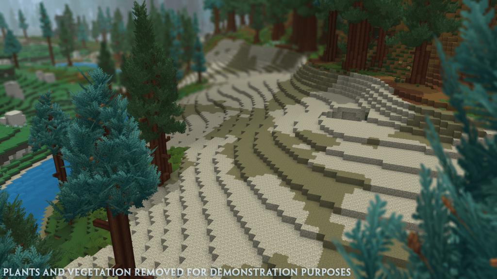 Bliższe spojrzenie na generowanie krajobrazu w Hytale
